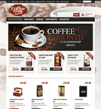 Cafe & Restaurant osCommerce  Template 43334