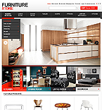 Furniture OpenCart  Template 43338