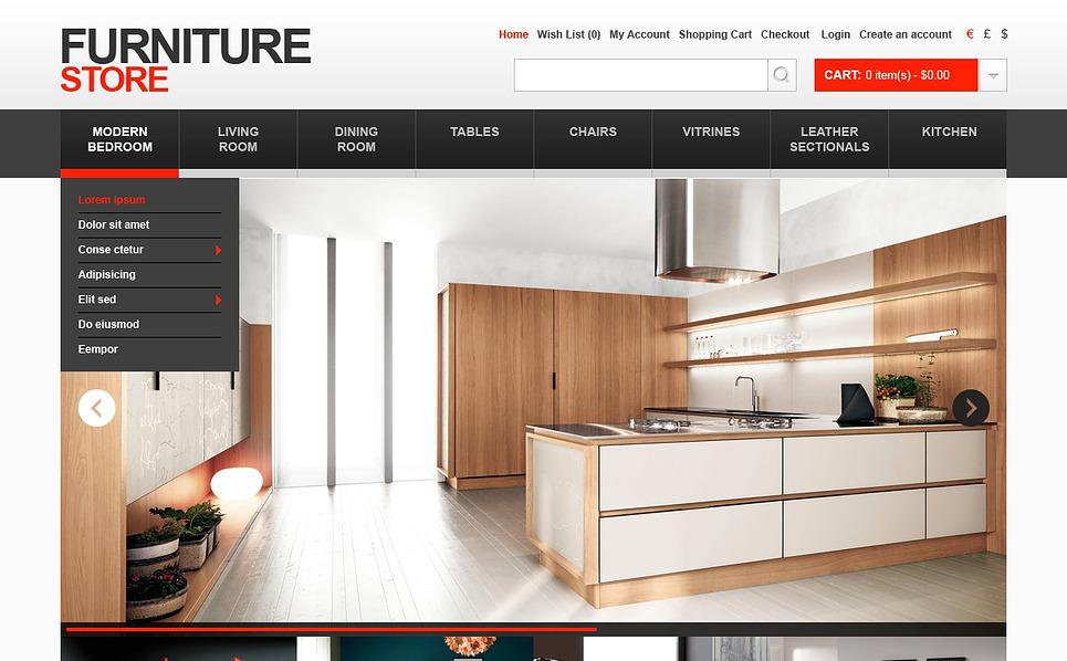 """Plantilla OpenCart """"Tienda de Muebles"""" New Screenshots BIG"""