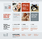 Animals & Pets Website  Template 43362