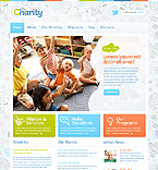 Charity WordPress Template 43375