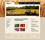 Agriculture Website  Template 43377