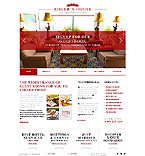 Hotels Website  Template 43378