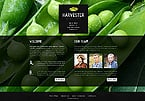 Agriculture Website  Template 43379