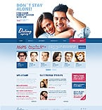 Dating Website  Template 43380