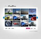 Art & Photography Moto CMS HTML  Template 43382