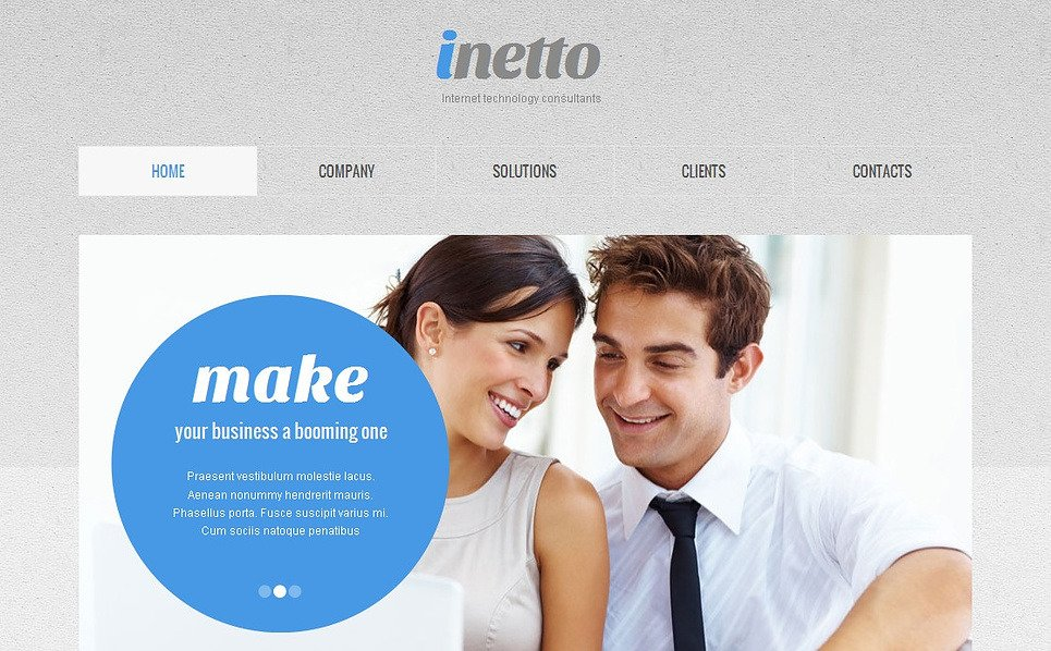 Template Moto CMS HTML  #43384 per Un Sito di Internet New Screenshots BIG