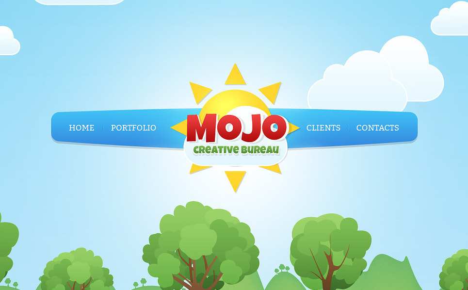 Plantilla Moto CMS HTML #43386 para Sitio de Estudio de diseño New Screenshots BIG
