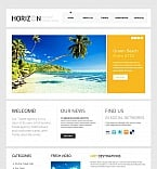 Travel Moto CMS HTML  Template 43396