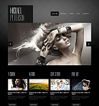 Art & Photography Moto CMS HTML  Template 43397