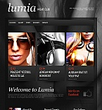 Night Club Moto CMS HTML  Template 43398