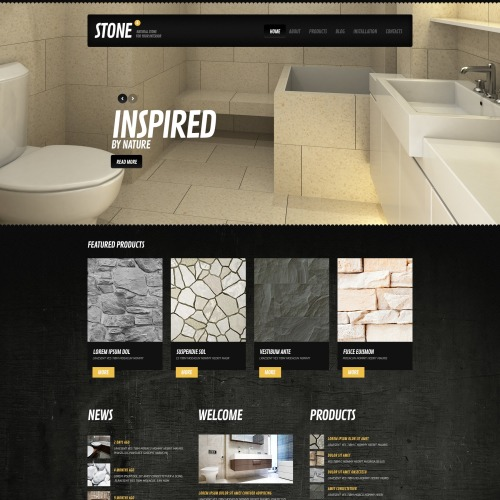Stone - Drupal Template