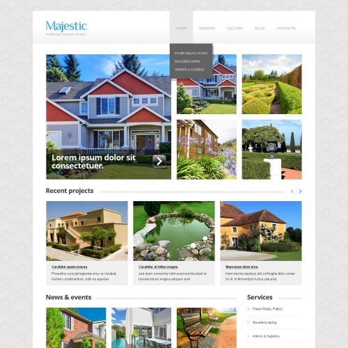 Majestic - HTML5 WordPress Template