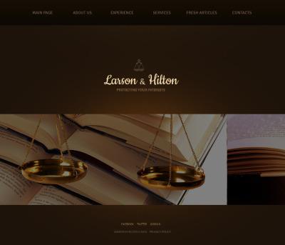 Plantilla Moto CMS HTML #43393 para Sitio de  para Sitio de Bufetes de abogados