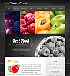 Agriculture Moto CMS HTML  Template 43400