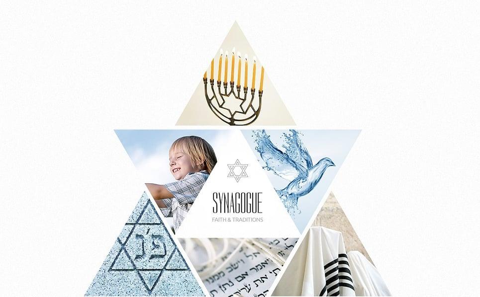 Website template over Synagoge  New Screenshots BIG