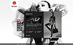 Fashion Website  Template 43427