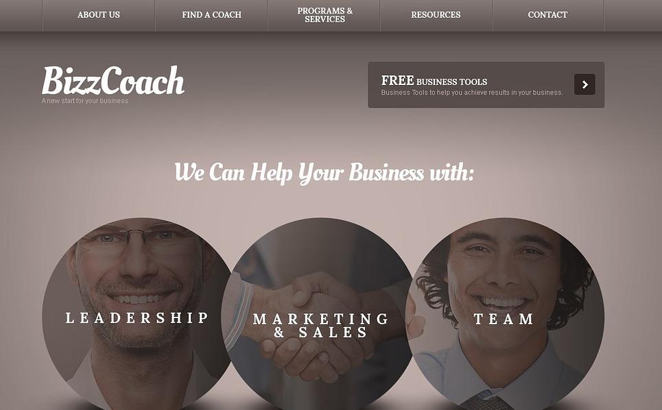 Szablon Strona Www #43437 na temat: firma inwestycyjna New Screenshots BIG