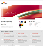 Web design Joomla  Template 43460