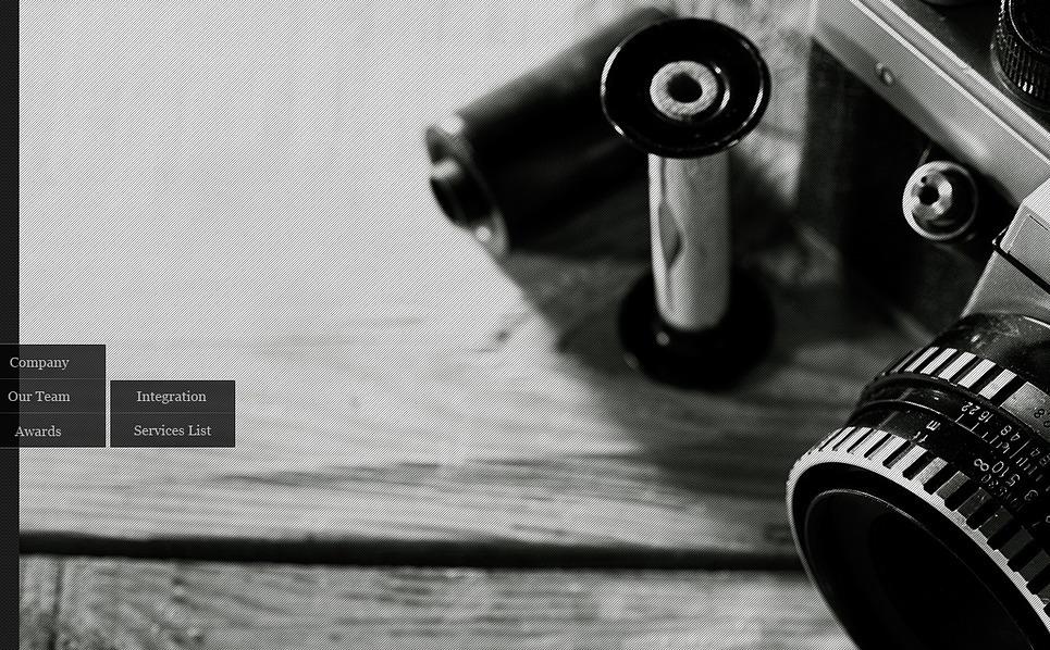 Шаблон фотогалереї на тему портфоліо фотографа  New Screenshots BIG
