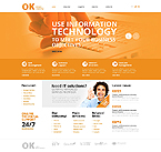 Website  Template 43464