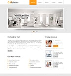 Furniture Website  Template 43489