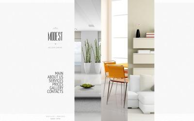 Interior Design Шаблон сайту