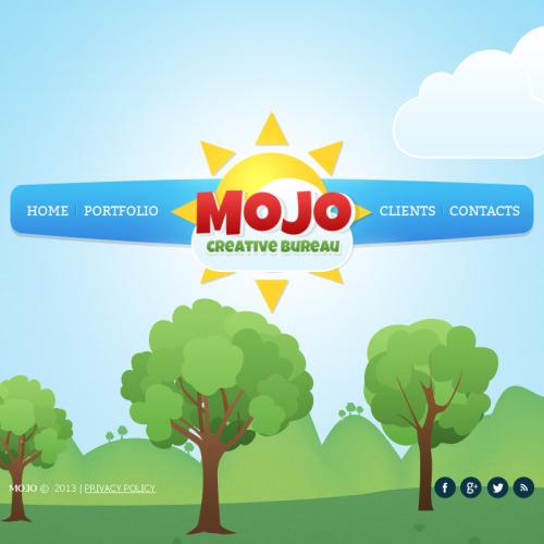 Mojo - Facebook HTML CMS Template