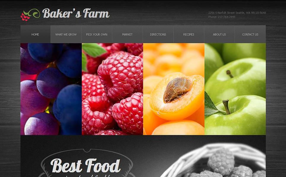 MotoCMS HTML шаблон №43400 на тему сельское хозяйство New Screenshots BIG