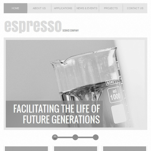 Espresso - Facebook HTML CMS Template