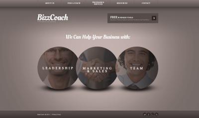 Website Vorlage für Investmentgesellschaft