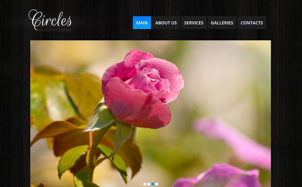 Modèle Moto CMS HTML  pour magasin de fleurs New Screenshots BIG
