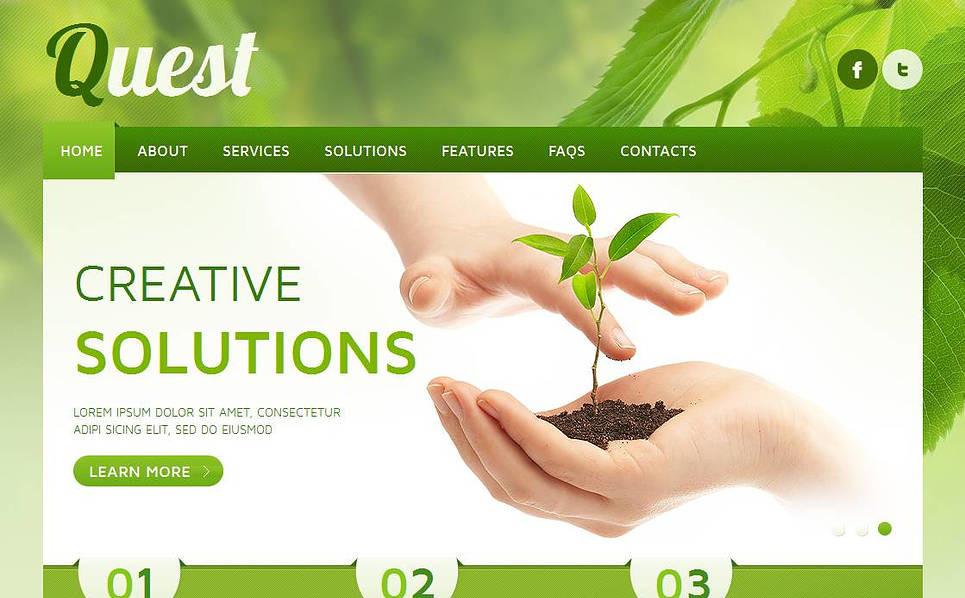 Plantilla Moto CMS HTML #43510 para Sitio de Sociedad gestora New Screenshots BIG