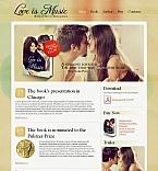 Books Moto CMS HTML  Template 43511