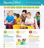 Education Moto CMS HTML  Template 43513