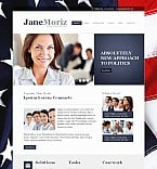 Politics Moto CMS HTML  Template 43514