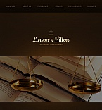 Law Facebook HTML CMS  Template 43528