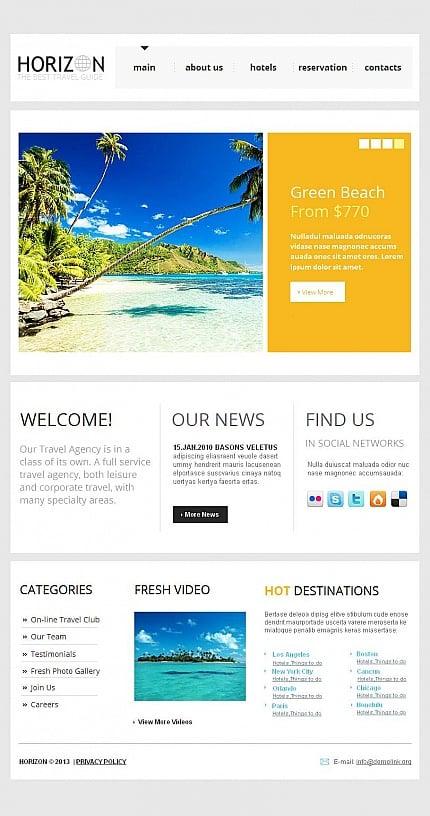 ADOBE Photoshop Template 43532 Home Page Screenshot