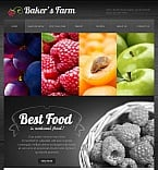 Agriculture Facebook HTML CMS  Template 43535