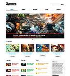 Games Website  Template 43546