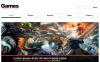 Responsivt Hemsidemall för Spel New Screenshots BIG
