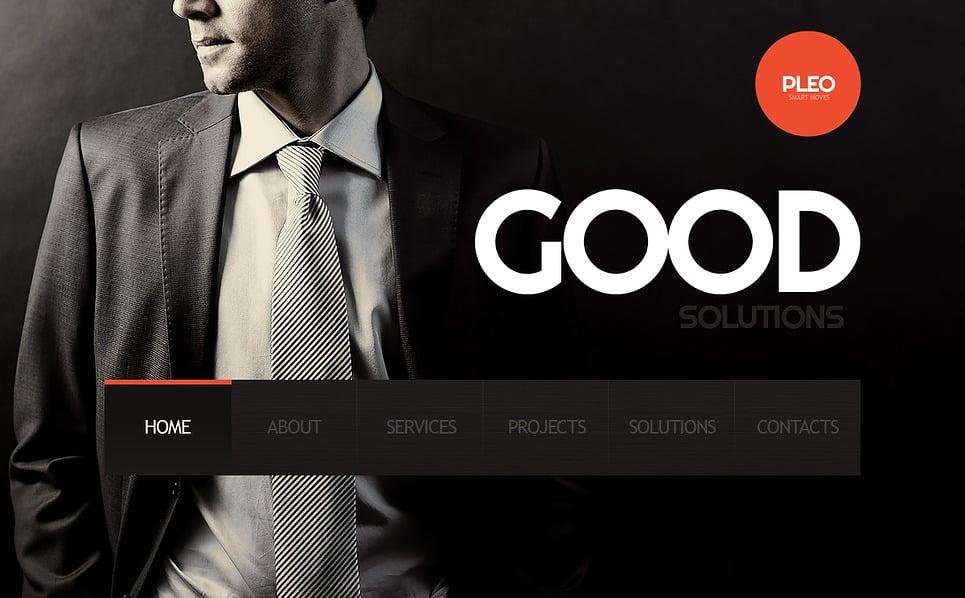 Bootstrap Šablona webových stránek na téma Poradenství New Screenshots BIG