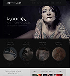 Beauty WordPress Template 43569