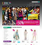Fashion OpenCart  Template 43581