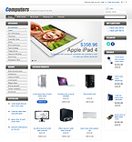 Computers OpenCart  Template 43582