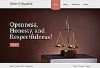 Law Website  Template 43586