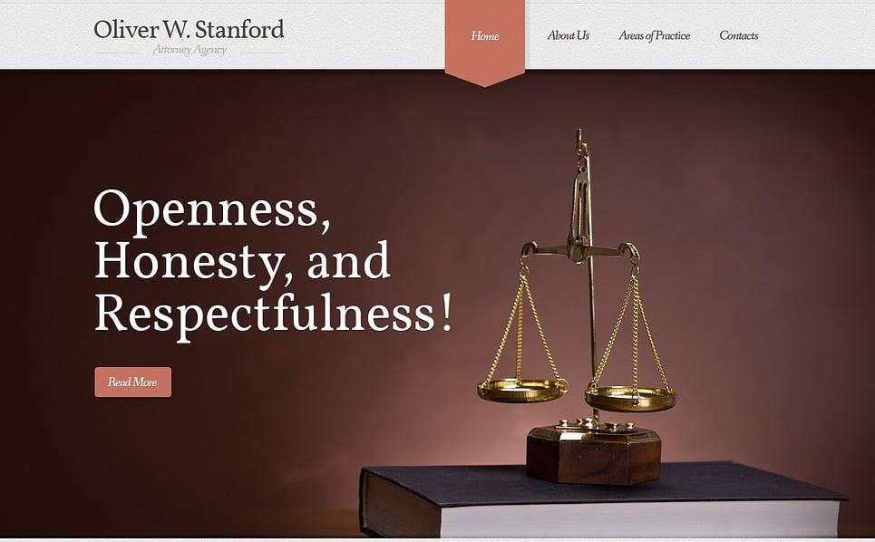 Ügyvédi Irodák Weboldal sablon New Screenshots BIG