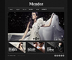 Fashion Website  Template 43592
