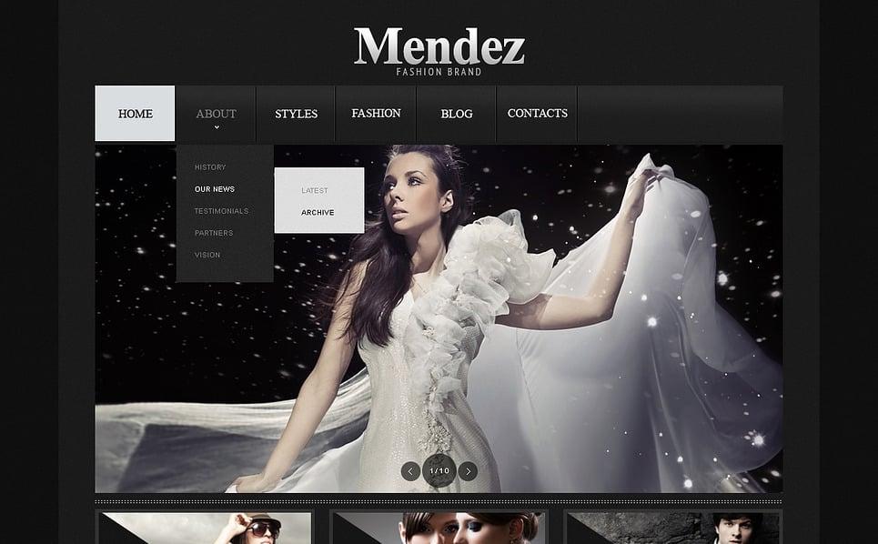 Template Web para Sites de Roupa №43592 New Screenshots BIG