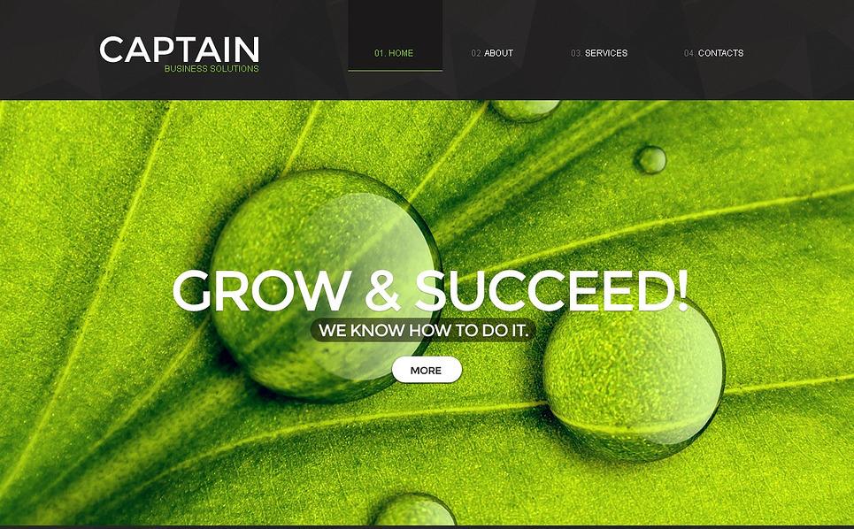 Website Vorlage für Beratung  New Screenshots BIG